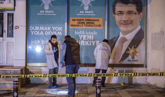 AK Parti temsilciliğine molotofkokteylli saldırı