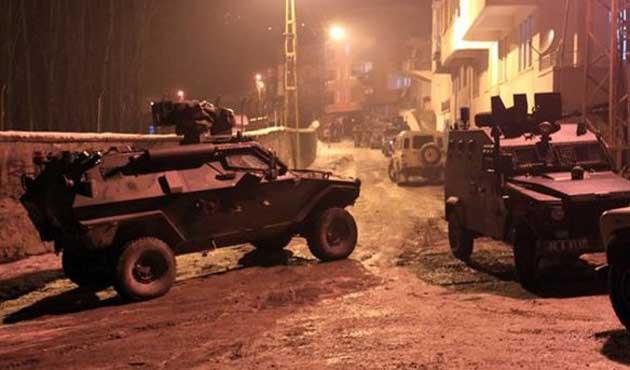 Cizre'ye yeni askeri sevkiyat