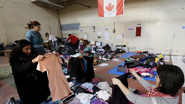 Lübnan'dan Kanada'ya Suriyeli sığınmacı nakli