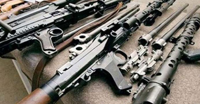 PKK'lıların terk ettiği evlerde silah bulundu