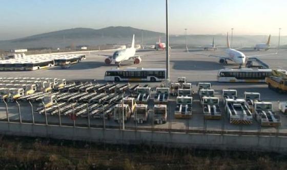 Havalimanındaki patlamada parça tesiri