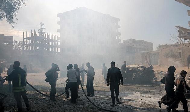 ÖSO komutanlarına intihar saldırısı: 30 ölü