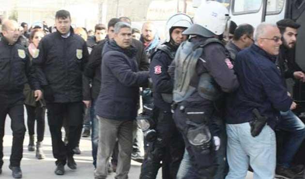 SDÜ'deki gerginlikte 43 kişi gözaltına alındı