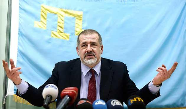 Çubarov: Kırım sorunu uluslararası alanda çözülmeli