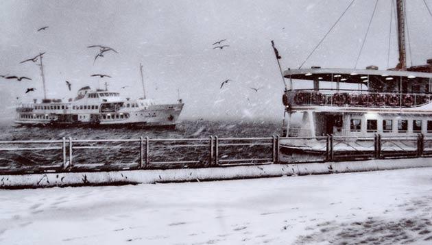 İstanbul Şehir Hatları vapurlarının tüm seferleri iptal edildi