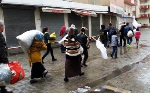 Cizre'de halk göç ediyor |FOTO | VIDEO