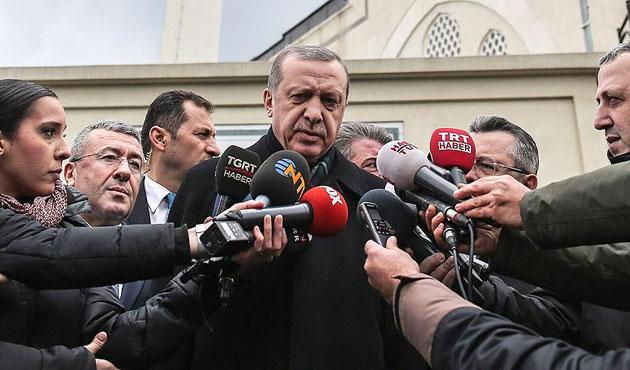 Erdoğan'dan Başika açıklaması