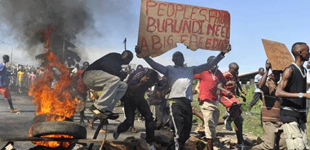 Burundi'de hafta sonu şiddeti: 5 ölü