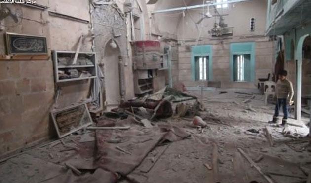 Esad Osmanlı camisini bombaladı