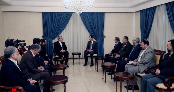 İran İçişleri Bakanı'ndan Esad ziyareti