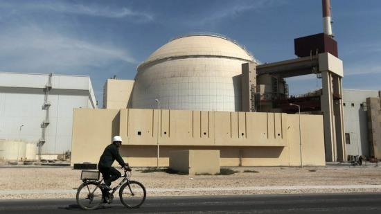 İran nükleer reaktörü betonladı
