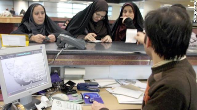 20 banka İran'da çalışmak için sırada