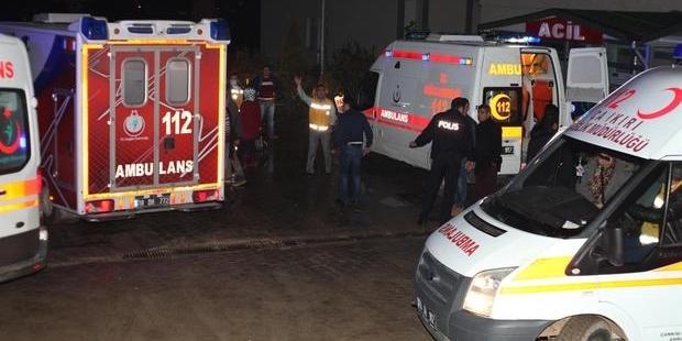 Kimyasaldan etkilenen 100 işçi hastaneye kaldırıldı
