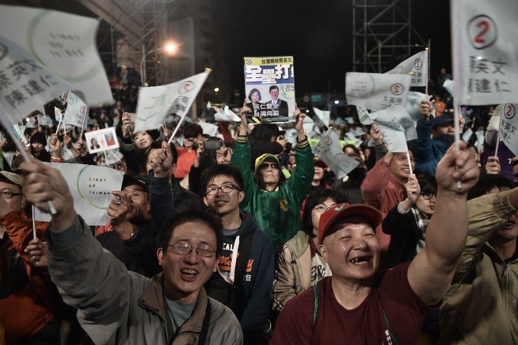 Tayvan seçimlerinde zafer muhalefetin