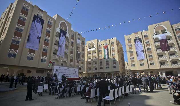 Katar Gazze'de bin 60 konut yaptı
