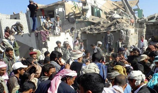 Yemen'de hava saldırısı: 35 ölü, 24 yaralı