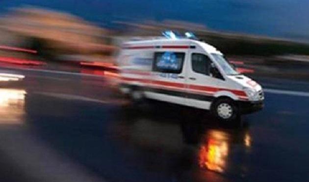 Yolcu taşıyan ambulans trafikten men edildi
