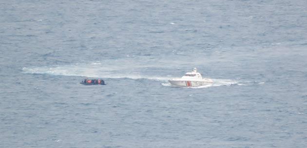 Ege Denizi'nde 180 yabancı uyruklu kurtarıldı