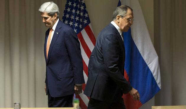 Kerry ve Lavrov Zürih'te görüştü