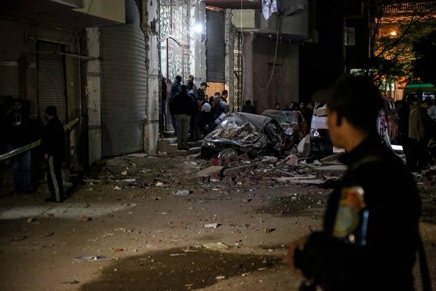 Kahire'de patlama: 6 ölü