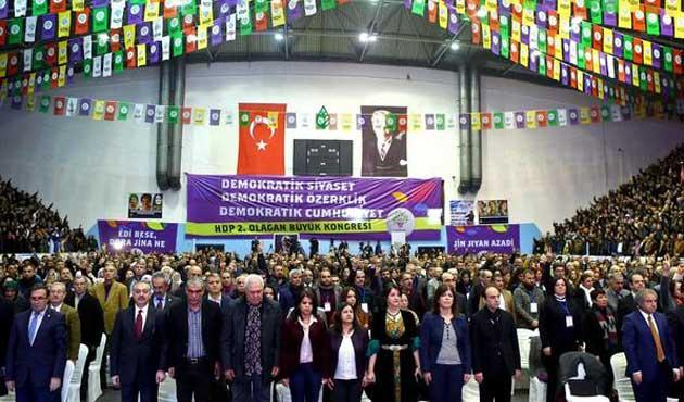 HDP kongresinde seçime geçildi