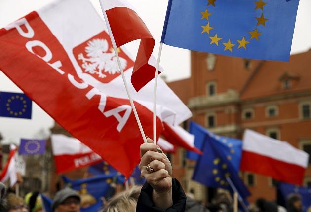 Avrupa Birliği'nde Polonya tartışması