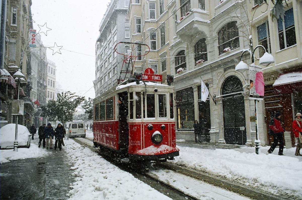 İstanbul'da kar yağışı arttı