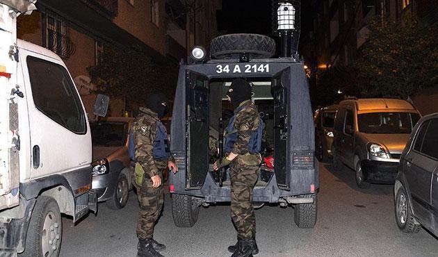 İstanbul'da sekiz ilçede PKK operasyonu