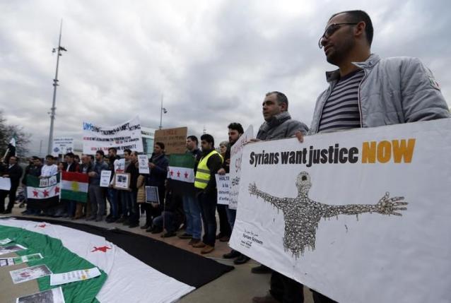 Suriyeli Muhalifler Cenevre yolunda