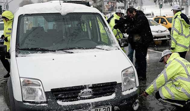 İstanbul'da 1 haftada 41 bin 498 kişiye trafik cezası