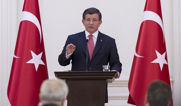 Davutoğlu, Güneydoğu'dan STK temsilcileriyle buluştu