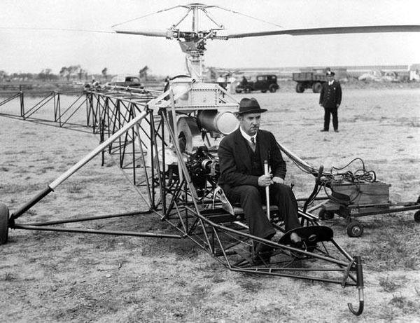 İlk helikopterler