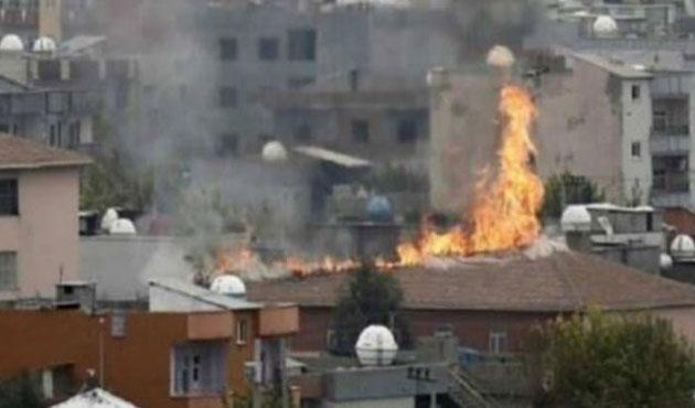 Cizre'de yangın iddiası