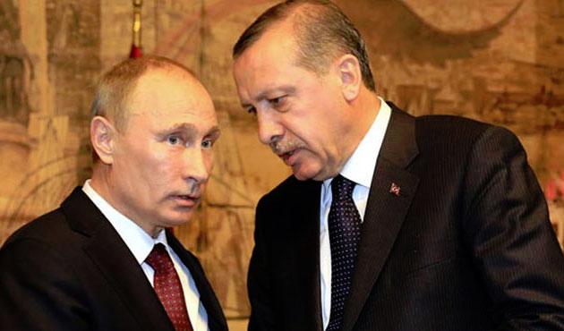 Cumhurbaşkanı Erdoğan Putin'le görüşecek