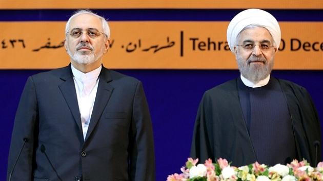Ruhani'den Cevad Zarif'e ödül