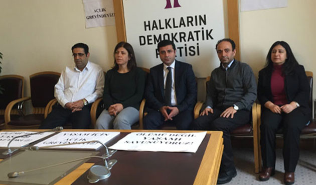 HDP, dönüşümlü açlık grevini sonlandırdı