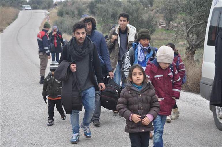 105 Suriyeli Midilli'ye geçemeden yakalandı