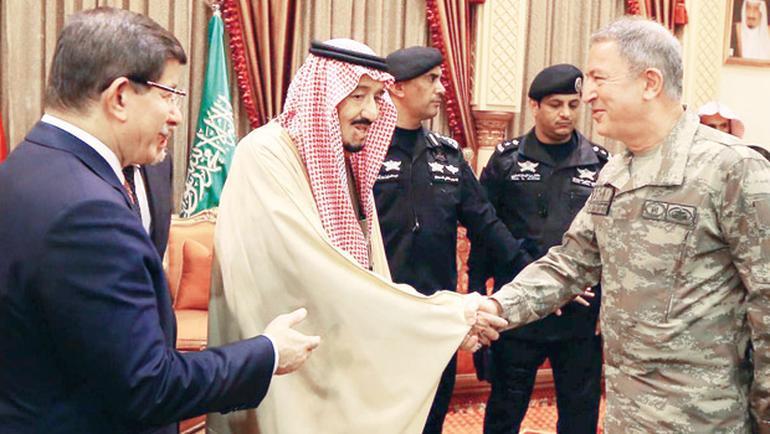 Türkiye S.Arabistan'la ortak tatbikat yapacak