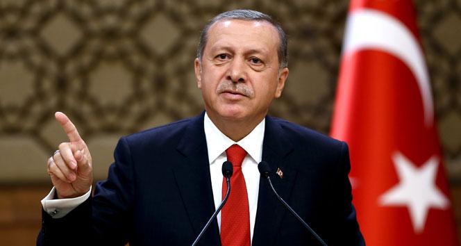 Erdoğan: Meşru müdafaa hakkımızı kimse sınırlayamaz
