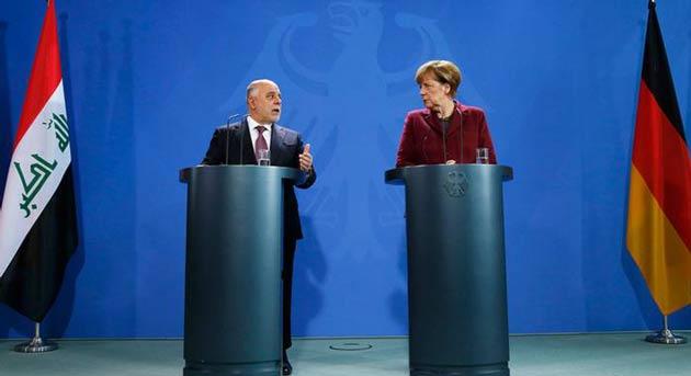Merkel'den Barzani'ye Irak'ta kalın çağrısı