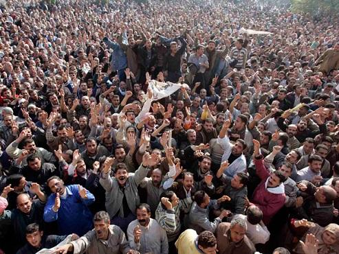 Mısır'da yoksulluk protestosu