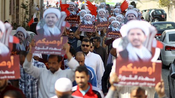 Bahreyn'de hükümet karşıtı protesto