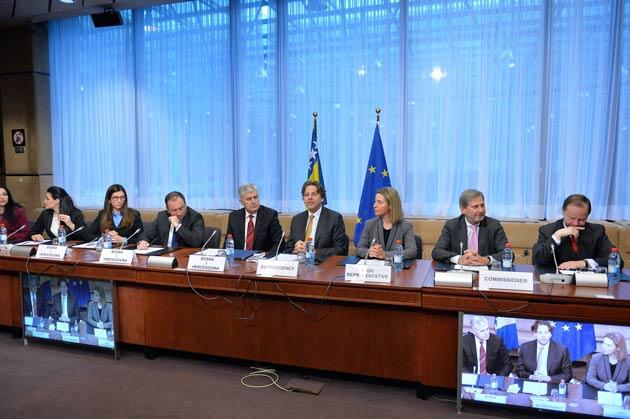 Bosna Hersek AB üyeliği için resmen başvurdu
