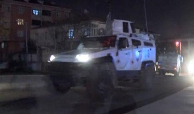 Gazi Mahallesi'nde olaylı gece