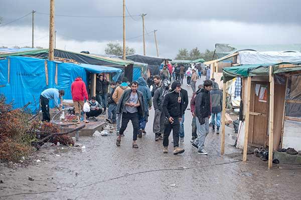 Calais kampının kapatılma kararı Danıştay'da