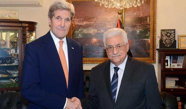 Kerry, Mahmud Abbas ile görüştü
