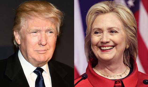 ABD'liler Trump ve Clinton'ı sevmiyor