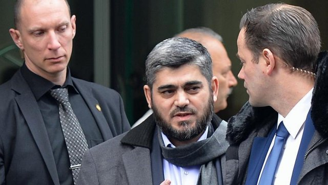 Suriyeli muhalif lider Alluş'tan De Mistura'ya sert sözler