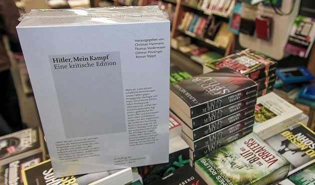'Kavgam' Almanya'da çok satanlar arasında
