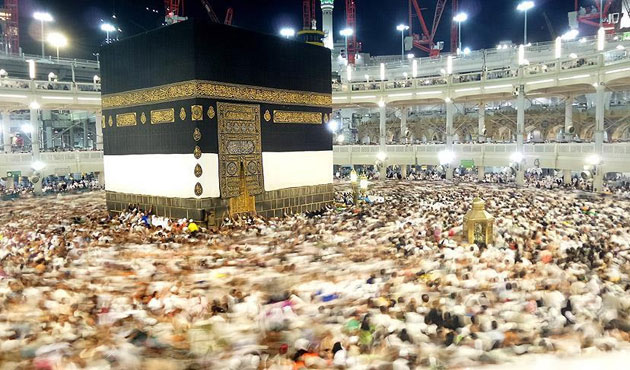 Ramazan'da 23 milyon kişi Kabe'yi ziyaret etti